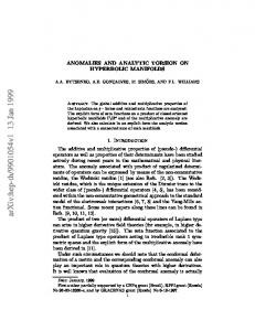 Anomalies and Analytic Torsion on Hyperbolic Manifolds