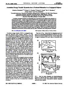 Anomalous Energy Transfer Dynamics due to Torsional Relaxation in ...