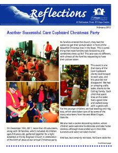 Another Successful Care Cupboard Christmas Party