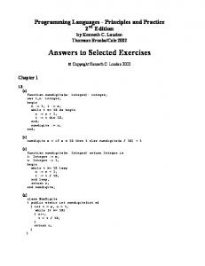 Answers to selected exercises (in pdf format).