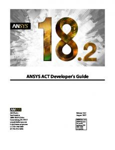 ANSYS Workbench User's Guide - MAFIADOC COM