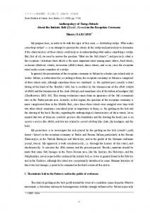 Anthropology of Tariqa Rituals: About the Initiatic Belt (Shadd ...
