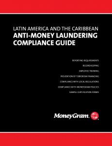 ANTI-MONEY LAUNDERING COMPLIANCE GUIDE