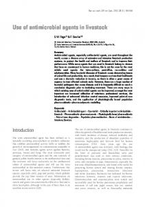 Antimicrobial agents