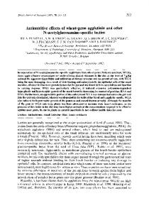 Antinutritive effects of wheat-germ agglutinin and ...