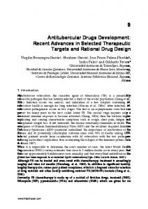 Antitubercular Drugs Development: Recent ... - Semantic Scholar