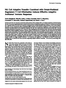 Antitumor Immune Responses Elimination Induces Effective Adaptive ...