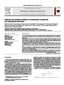Antiviral and cytotoxic activities of aminoarylazo compounds ... - Mose