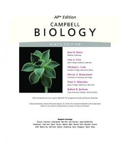 AP* Edition of CAMPBELL BIOLOGY - Pearson