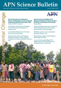APN Science Bulletin - (IGES) Publications