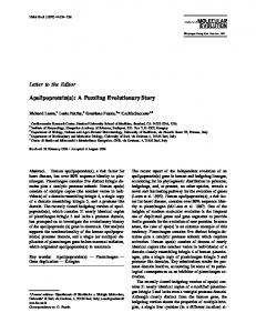 Apolipoprotein(a): A Puzzling Evolutionary Story - Springer Link