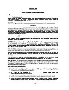 Format of legal undertaking for exit mafiadoc appendix 25 b legal agreementundertaking format to spiritdancerdesigns Image collections