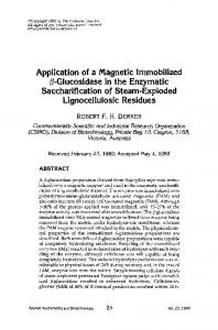 Application of a magnetic immobilized - Springer Link