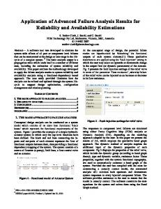 Application of advanced failure analysis results for ... - PHM Technology