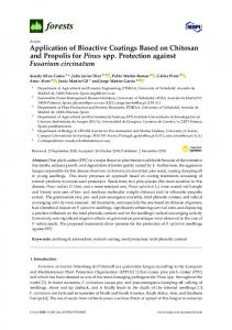 Application of Bioactive Coatings Based on Chitosan and Propolis for