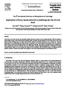 Application of fuzzy neural network in predicting the ... - ScienceDirect