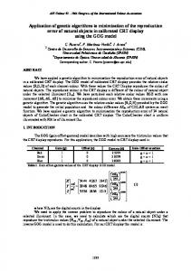 Application of genetic algorithms to minimization of the ... - RUA