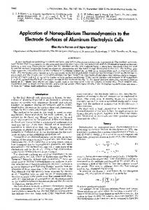 Application of Nonequilibrium Thermodynamics to the