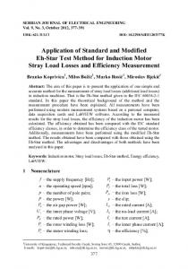 Application of Standard and Modified Eh-Star Test Method for ...