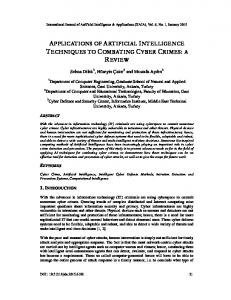 applications of artificial intelligence techniques to ... - Aircc Digital Library