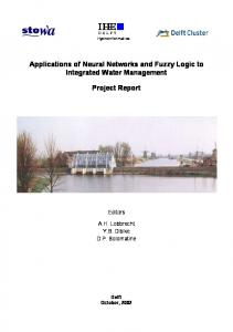Applications of Neural Networks and Fuzzy Logic to ... - WUR E-depot