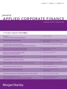 applied corporate finance - SSRN papers