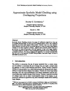 Approximate Symbolic Model Checking using