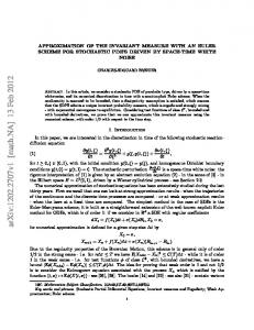 Approximation of the invariant measure with an Euler scheme for ...