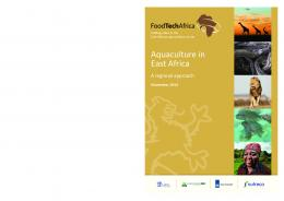 Aquaculture in East Africa - Wageningen UR E-depot - WUR