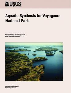 Aquatic Synthesis for Voyageurs National Park - National Park Service