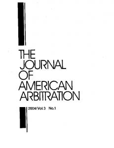 arbitration - SSRN papers
