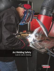 Arc Welding Safety Guide