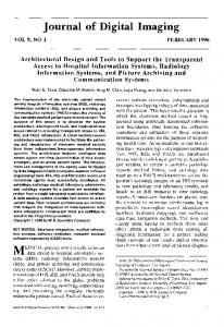 Architectural design and tools to support the transparent access to