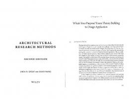ARCHITECTURAL RESEARCH METHODS - Andrew.cmu.edu