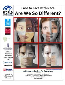 Are We So Different? - World Affairs Council