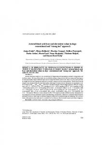 Arterial blood acid-base and electrolyte values in dogs: conventional ...