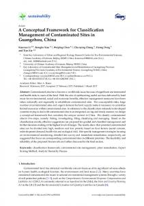 Article A Conceptual Framework for Classification ... - MDPI