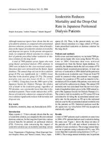 Article Template - Advances in Peritoneal Dialysis