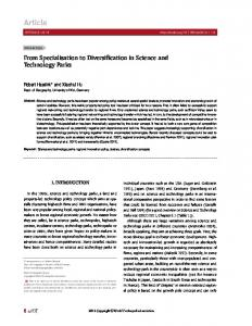 Article - Working Group Economic Geography