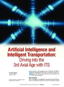 Artificial Intelligence and Intelligent Transportation