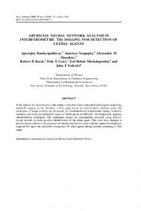 ARTIFICIAL NEURAL NETWORK ANALYSIS IN ... - Springer Link