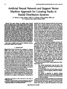 Artificial Neural Network and Support Vector Machine ... - IEEE Xplore