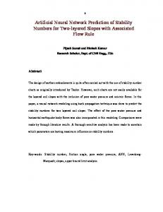 Artificial Neural Network Prediction of Stability Numbers for Two