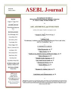 ASEBL Journal - St. Francis College