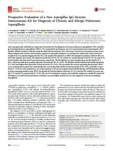 Aspergillus fumigatus - Journal of Clinical Microbiology - American ...