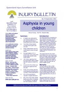 Asphyxia in young children
