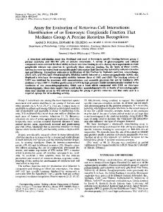 Assay for Evaluation of Rotavirus-Cell Interactions - Journal of Virology