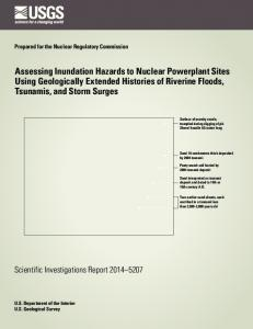 Assessing Inundation Hazards to Nuclear Powerplant Sites Using ...