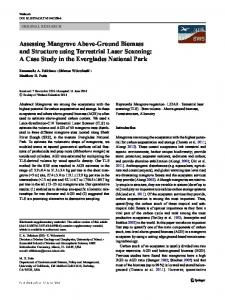 Assessing Mangrove Above-Ground Biomass and