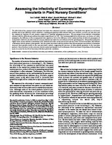 Assessing the Infectivity of Commercial ... - Semantic Scholar